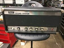 Kern Orange Style Guitar Bass Tube Amp Point To Point