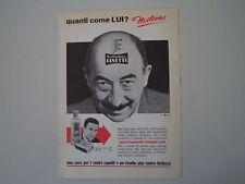 advertising Pubblicità 1963 BRILLANTINA LINETTI
