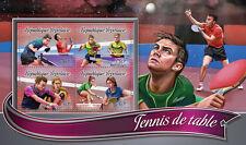 Togo 2016 neuf sans charnière tennis de table 4v m/s sports timbres