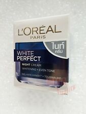 LOREAL WHITE PERFECT NIGHT CREAM WHITENING + EVEN TONE REVEALING 50 ml.