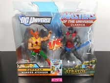 MINT! DC UNIVERSE CLASSICS MASTERS OF THE UNIVERSE HAWKMAN & STRATOS 2 PACK 36-2