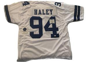 Charles Haley Signed Dallas Cowboys Jersey Beckett Certified XL Hof NFL JL/K3