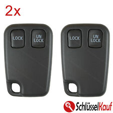 2 Stück VOLVO 2 Tasten Autoschlüssel S40 V40 S70 C70 V70 Gehäuse Remote Case Neu