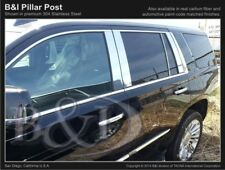 CADILLAC ESCALADE ESV CHROME PILLAR POSTS 2015-2019 8PCS