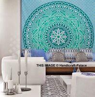 Indian Tapestry Wall Hanging Mandala Hippie Gypsy Bedspread Twin Throw Bohemian
