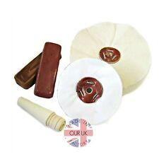 Jewellers Polishing Kit 62 - for Rings - Bench Polisher, polishing Motor Mops