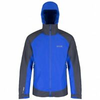 Regatta Semita Mens Waterproof Breathable Hooded Ripstop Fabric Jacket Multi