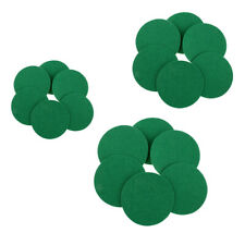 6 pieces of replacement felt pads for air hockey pushers