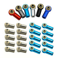 10/20 x Toy Accessory Aluminum Ball Head Joint M3 Link Rod Parts For 1/10 RC Car