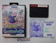 Lemmings Sega Master System (1992) mit Anleitung OVP 4974365637088