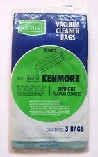 Sears Kenmore Upright Vacuum Cleaner Disposable Bags (3) Bags in pack 20-5002