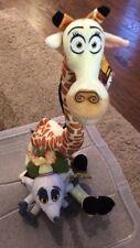"Madagascar 2 Melmen  plush 20"" and From The Penguins Of Madagascar 7"" Plush"