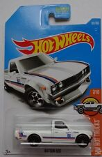 2017 Hot Wheels HW HOT TRUCKS 7/10 Datsun 620 181/365 (White Version)