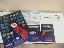 INSTRUCTION MANUAL BOOKLETS ONLY For Nintendo Entertainment System Console NES