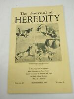 The Journal of Heredity September 1937 Vol. 28 No. 9