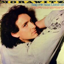 "7"" MORAWITZ Sag mir was Liebe ist FOREIGNER I Want To Know What Love Is WEA 1985"