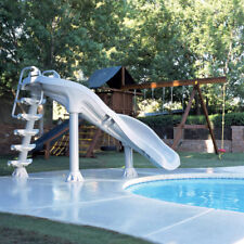 2012 Interfab X-stream 2 Extreme Inground Grey Swimming Pool Water Slide