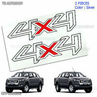 Chrome Full Color Sticker Paint Logo Cover Car Decal Vinyl Ford Ranger T6 12 13 Colores