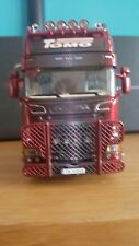 WSI SCANIA STREAMLINE TOPLINE 6X2 AXLE TRACTOR UNIT SCALE 1.50
