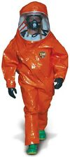 Kappler Z5H552 SM/MD Level A Fully Encapsulated Hazmat Suit-Orange