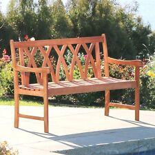 Vifah V1634 Malibu 4-ft Garden Bench