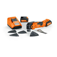Fein Cordless MultiTalent QuickStart Cordless Oscillating Sanding Sawing Tool