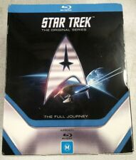 STAR TREK Original Series Full Journey BLU-RAY 20-Disc Enterprise oz seller MINT