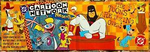 Cartoon Network promo poster 1997 11x34 DC Comics Space Ghost Yogi Bear Dexter