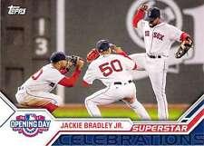 2017 Topps Opening Day Superstar Celebrations #SC-24 Jackie Bradley Jr. Red Sox