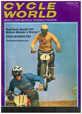 CYCLE WORLD FEBRUARY 1969 SEE CONTENTS PAGE IN SECOND PHOTO