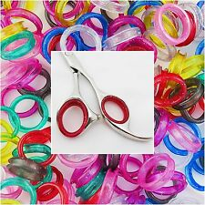 Set of 10 Finger Rings Sizing Inserts for Hairdressing Scissors 5L 5S