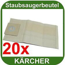 Staubsaugerbeutel Microvlies Staubsack passend für Kärcher 3500 E