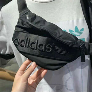 Trefoil adidas logo unisex Cross body Messenger Shoulder waist bum Bag Free P&P