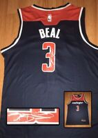 Bradley Beal Washington Wizards Autographed Signed Jersey NBA Star