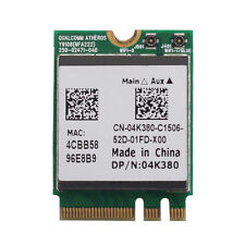 ATHEROS Wireless NFA222 DP/N:04K380 300M BT 4.0 NGFF Wifi Card Dual Band f. DELL