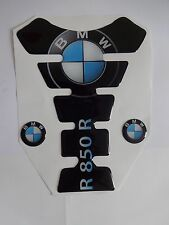 Motorcycle Tank Pad Protector Sticker | (Bmw) R850R Black with side Stickers