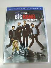 The Big Bang Theory Cuarta Temporada 4 Completa - 3 x DVD Español Ingles