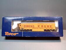 ROCO Preiser 47719 Tiertransport Circus Krone Güterwagen Elefanten-Transport =
