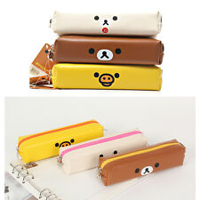 Rilakkuma Mini Pencilcase Cute Pencil Pouch Pen Holder Bag Stationery School