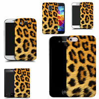 art case cover for All popular Mobile Phones - leopard fur silicone