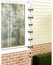 """Bees - Spinning Motion Rain Chain 57"""" Outdoor Country Decor"""