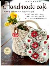 Handmade Cafe - Crochet and Embroidery Projects- Japanese Craft Book