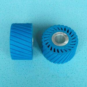85*50*25.4mm Sanding Belt Rubber Wheel with Aluminium Core for Sander Polisher
