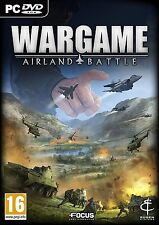 PC-DVD Wargame Airland Battle Brand New Sealed Game
