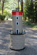 Woodworking Project Plans for a Corsica France Lawn Lighthouse - CD via Mail