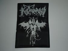 KATHARSIS BLACK METAL EMBROIDERED PATCH