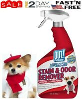 OUT! Advanced Stain and Odor Remover | Pet Stain and Odor Remover For Dogs 32 Oz