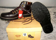 Mens Brown Work Shoes Mossimo Lace up to ankle NIB