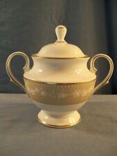 Lenox China - Bellina Gold Pattern - Covered Sugar Bowl
