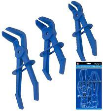 Bluespot 3pc Flexible Offset Hose Pliers Clamp Plier Set Brake Radiator Pipes